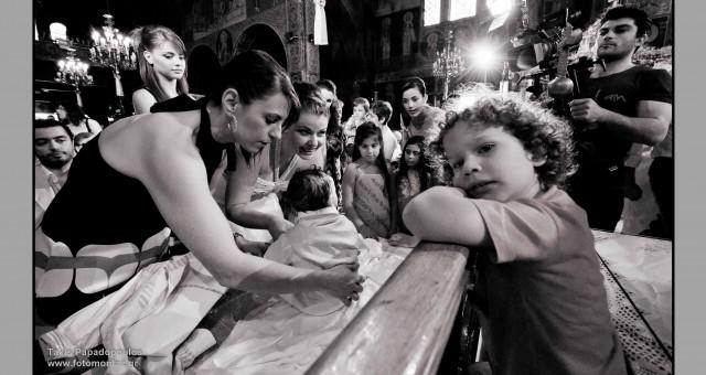 Φωτογραφίες απο την βάπτιση του Μαρίνου