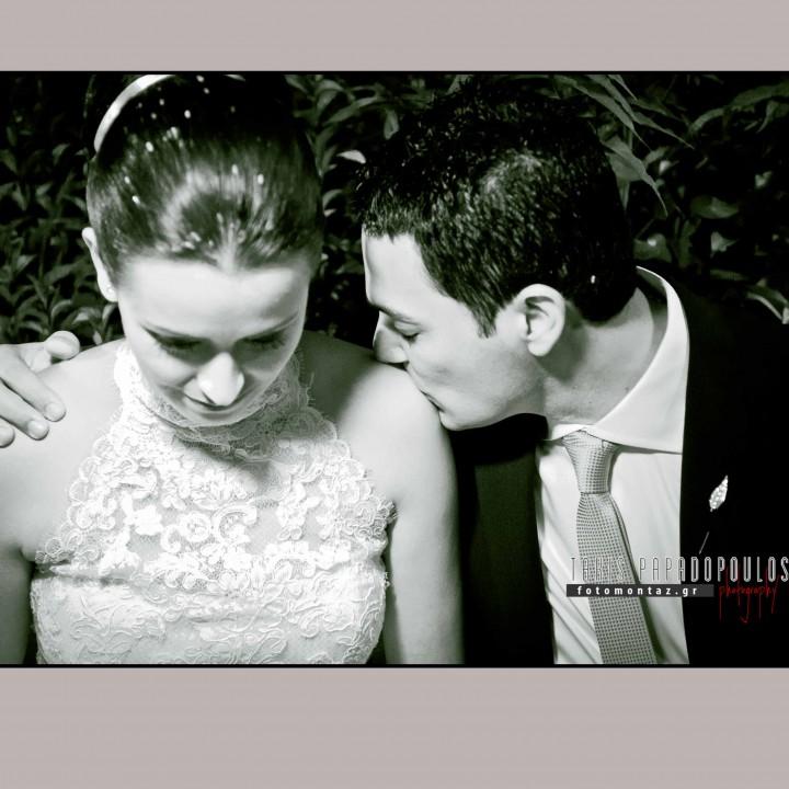 φωτογραφηση γαμου του Γιαννη και της Βουλας στην Ευβοια