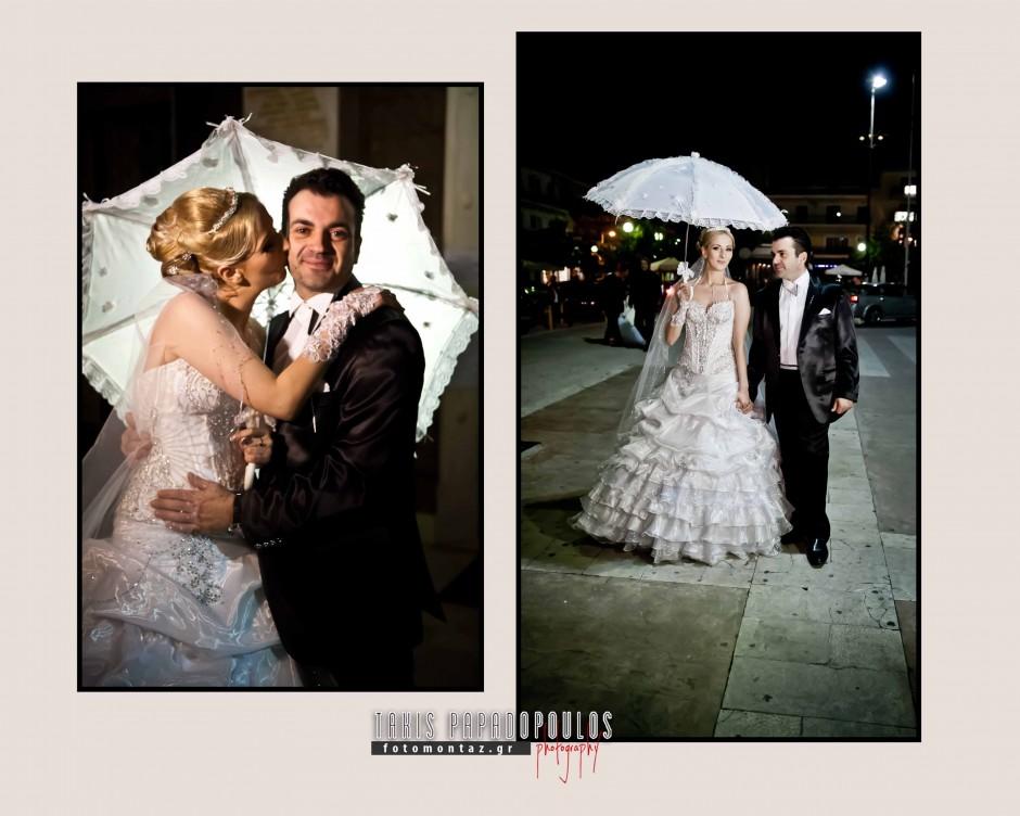 φωτογραφια γαμου με ομπρελα