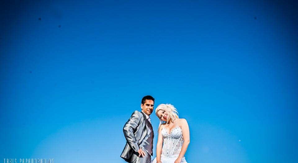 φωτογραφίες γάμου στην παραλία