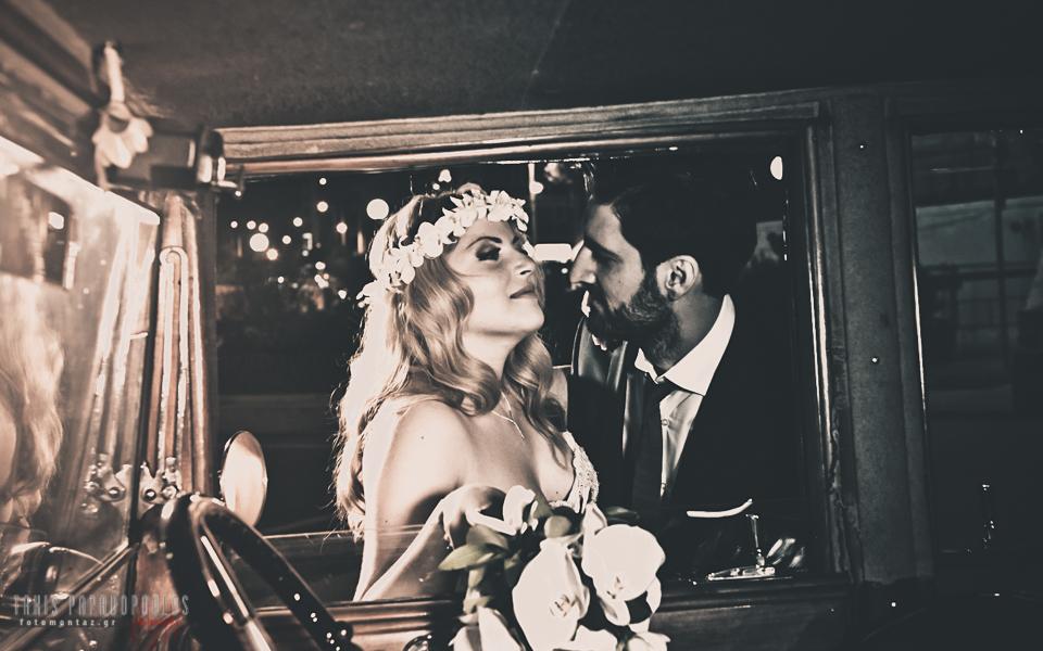 Vintage-retro-γάμος