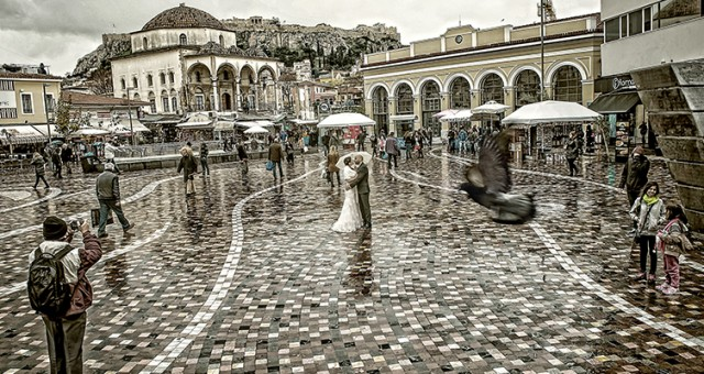 wedding next day shooting Athens Αθήνα
