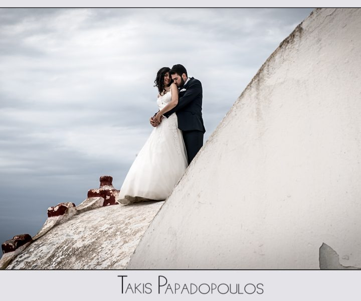 γάμος στην Σαντορίνη