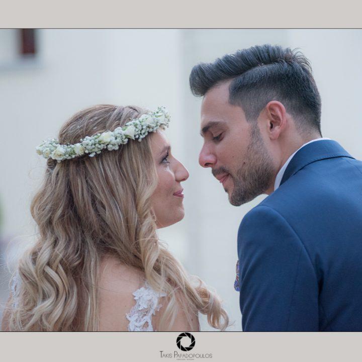 Καλοκαιρινός γάμος του Χρήστου και της Αλεξάνδρας